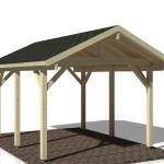 Cochera Robert 11.7 de Casas Carbonell porche o terraza cubierta