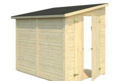 cobertizo contenedores de madera Mia 3.4