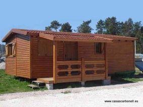 Casas modulares transportables de Casas Carbonell