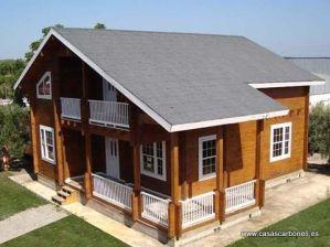 viviendas prefabricadas de madera de Casas Carbonell