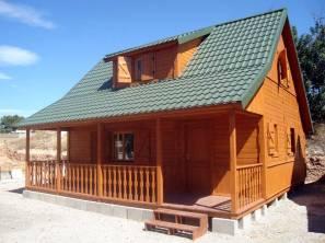 Casa de madera modelo Piscis de Casas Carbonell