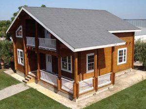 construcción de casas de madera Casas Carbonell