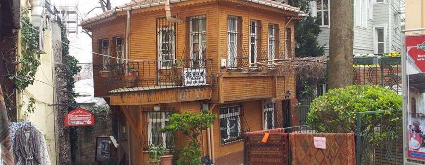 Casa de madera en Estambul. Vida casa madera mas de 100 años