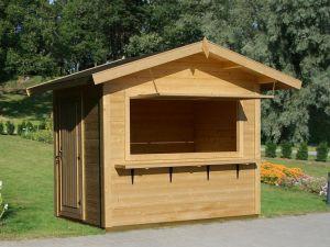 kiosko de madera Kitty de Casas carbonell