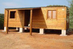 casas de madera económicas CCR43 Casas Carbonell prefabricadas