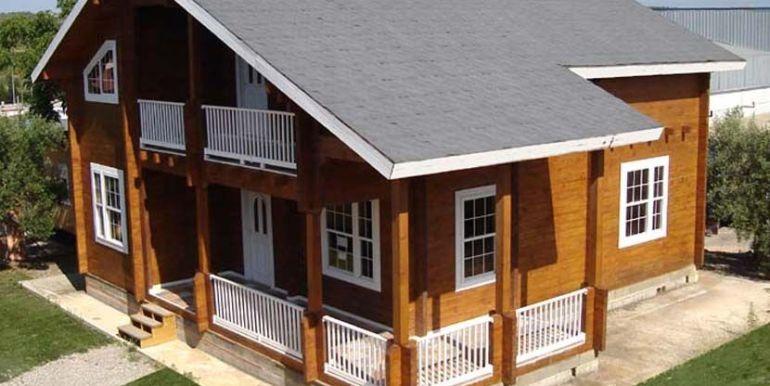 casa de madera Porta Coeli destacada