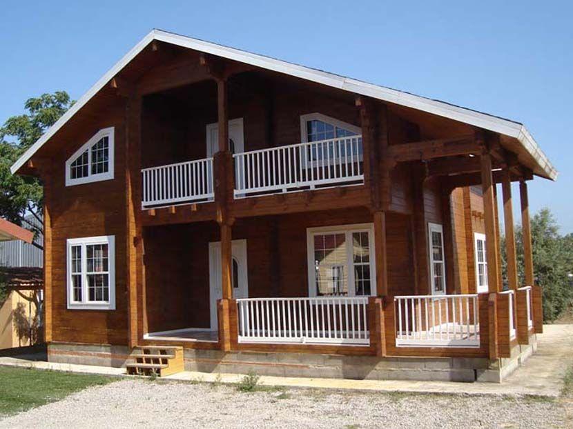 oferta casa madera maciza modelo porta coeli m