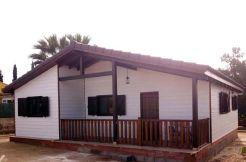 casa de entramado ligero de madera, Casas Carbonell, construcción in situ
