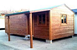 casa modular de madera CCR40 Casas Carbonell