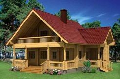 Casas en kit de madera Elisa