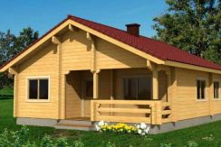 Kit de casa de madera Regina