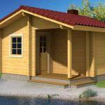 casa de madera en kit sauna sofia