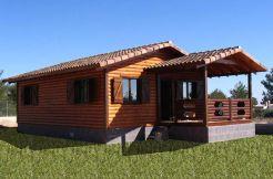 casa de madera Casas Carbonell Lieta