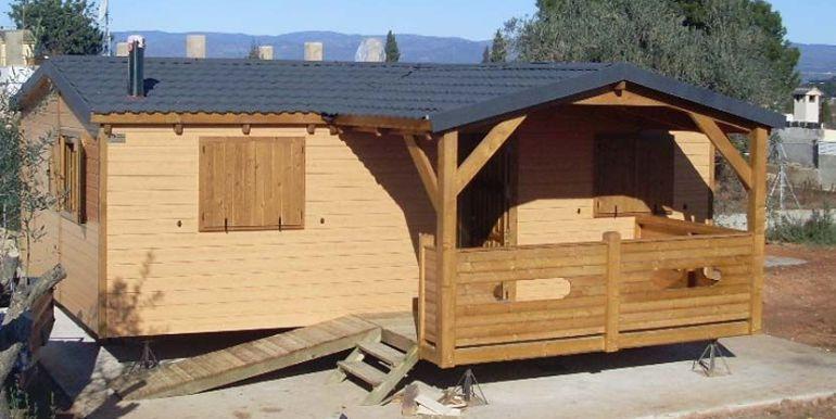 Casas de madera modulares de Casas Carbonell