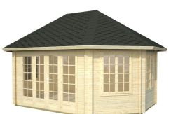 casitas de madera precios de jardín Hanna 20.3 de Casas Carbonell para terreno