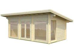 casa de madera para jardín Heidi 19.7 de Casas Carbonell de madera maciza