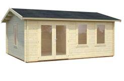casa de madera para jardín Iris 18.9 de Casas Carbonell con madera tratada