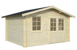 caseta jardín económica de Casas Carbonell en madera tratada