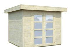 caseta de jardín económica Lara 6 de Casas Carbonell madera tratada