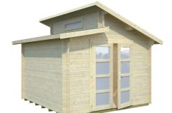 Trastero económico Leif 8.7 de Casas Carbonell de madera maciza