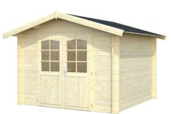 caseta económica de jardín Lotta 7.3 Casas Carbonell en madera tratada