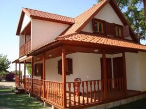 Casas madera Madrid, modelo Lotus de Casas Carbonell