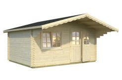 casetas madera de jardín Sally 15.5 de Casas Carbonell de madera tratada