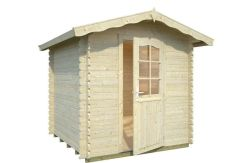 casetas de jardín de madera Vivian 3.8 de Casas Carbonell madera tratada