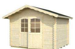 casetas de jardín madera Vivan 6.9 Casas Carbonell madera tratada