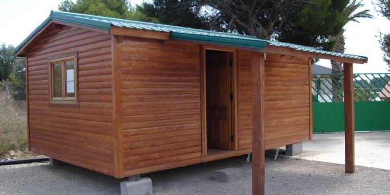Caas Carbonell, casa de madera modular modelo Altea
