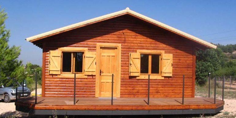 bungalow de madera