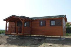 casa prefabricada modular Calpe de Casas Carbonell con porche