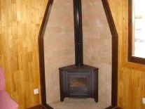 estufa casa de madera oferta