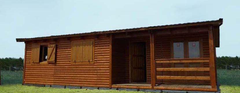 casa prefabricada de madera Nogal de Casas Carbonell