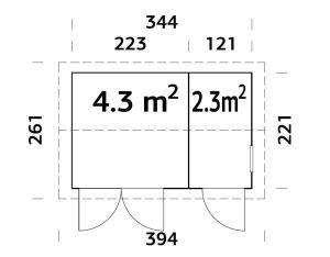 plano de caseta olar 6.6