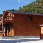 casa prefabricada de madera Sagunto de Casas Carbonell