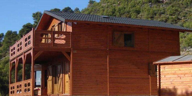 Casas Carbonell, casa prefabricada de madera modelo Sagunto