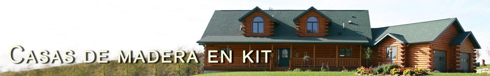 casa madera kit