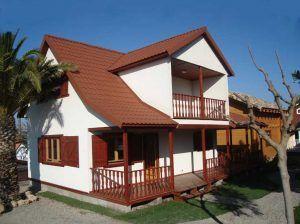 Casas madera Madrid modelo Lotus de Casas Carbonell