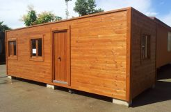 Oferta casa madera modelo CCR22