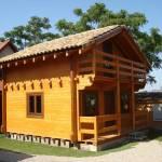 Venta cabaña madera maciza de exposición