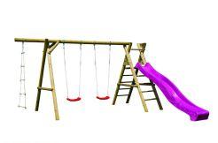 parque infantil en madera Henry de Casas Carbonell