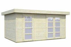caseta para jardín de madera Lara 12.7 de Casas Carbonell