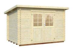casitas de jardín Mary 5.7 de Casas Carbonell en madera