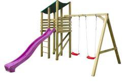 Parque de madera infantil Elly