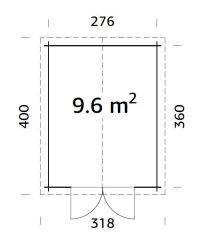 plano de Trastero de herramienta RALF 9,6