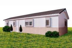 Casa de madera modular prefabricada Tritón