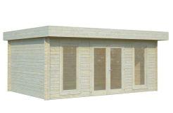 Caseta de jardín sólida, cabañaBRET 19,9 m².