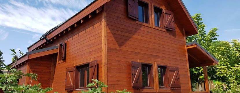 Casa de madera en Requena