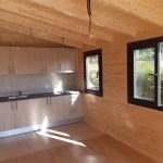 cocina de casas de madera modelo sierra espadan